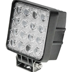"KM LED 4.25"" x 4.25"" Work Light - Flood"