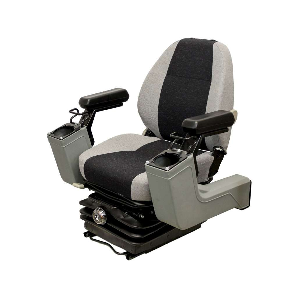 KM 525P Construction Seat & Mechanical Suspension with Pods