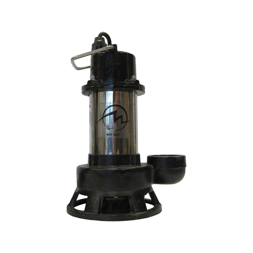 "2"" 1/2hp 120v Submersible Trash Pump"