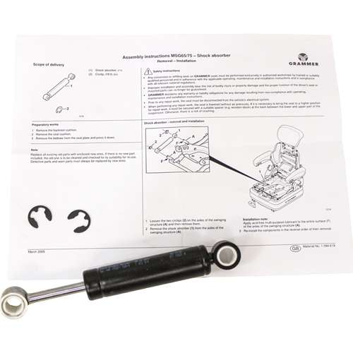 KM 136 Shock Absorber Kit