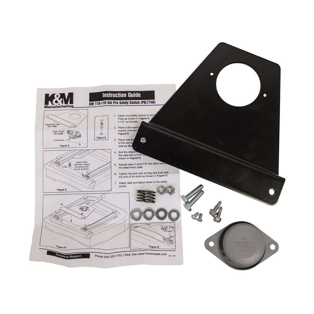 KM 115/116 Operator Presence Switch Kit