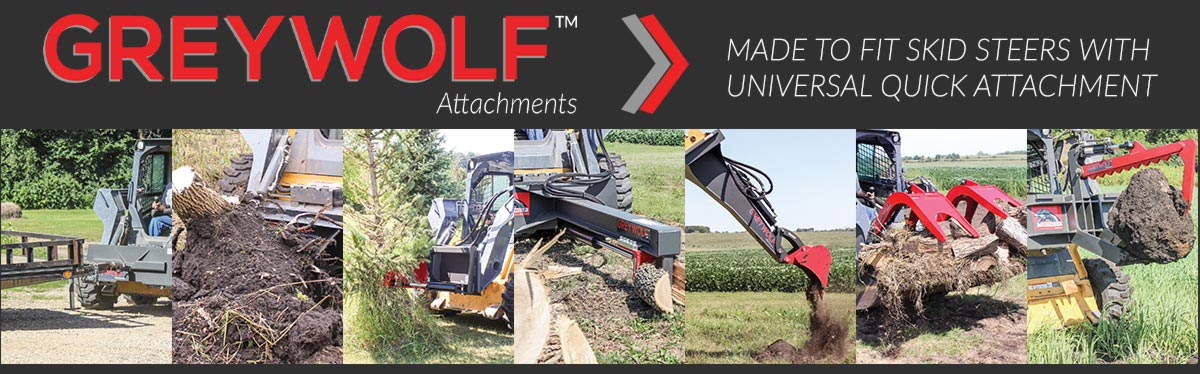 GreyWolf Skid Steer Attachments